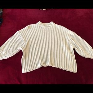Urban Outfitters wide ribbed top